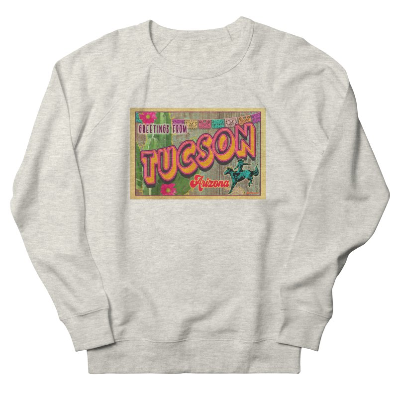 Tucson, Arizona Men's Sweatshirt by Nuttshaw Studios