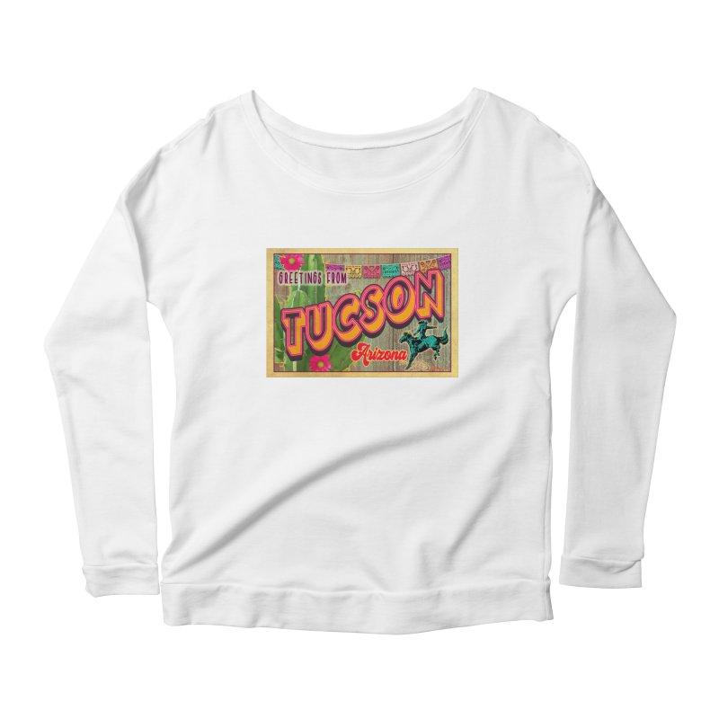 Tucson, Arizona Women's Longsleeve T-Shirt by Nuttshaw Studios