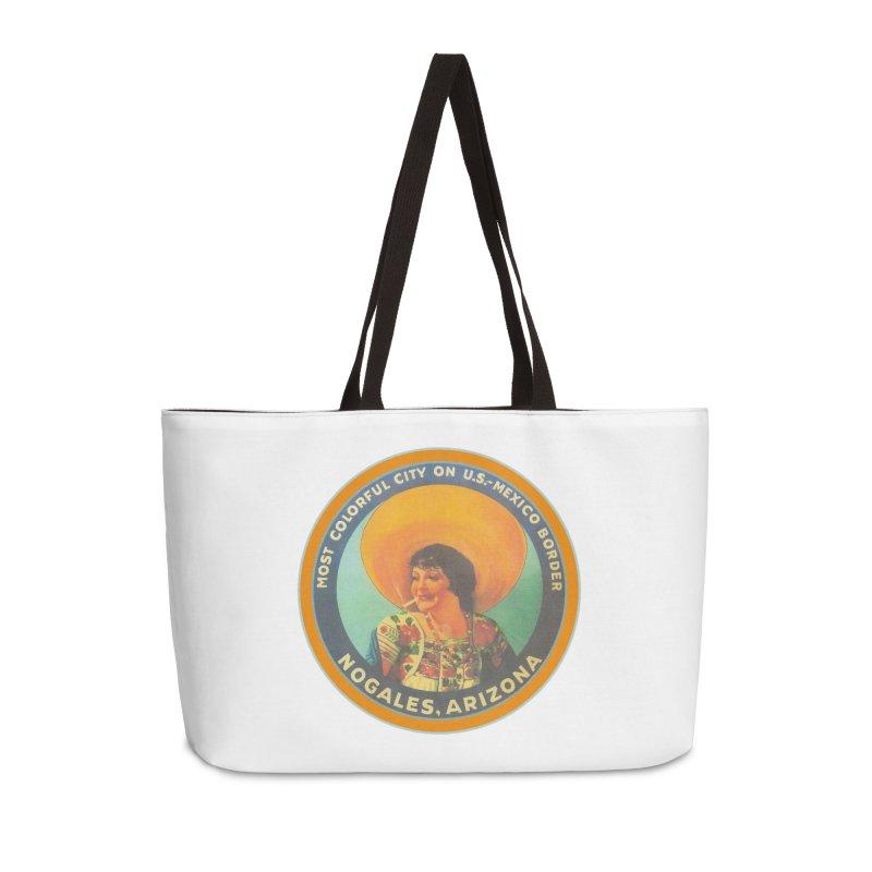 Colorful Nogales, Arizona Accessories Weekender Bag Bag by Nuttshaw Studios