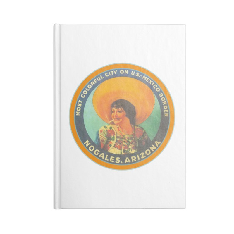 Colorful Nogales, Arizona Accessories Lined Journal Notebook by Nuttshaw Studios