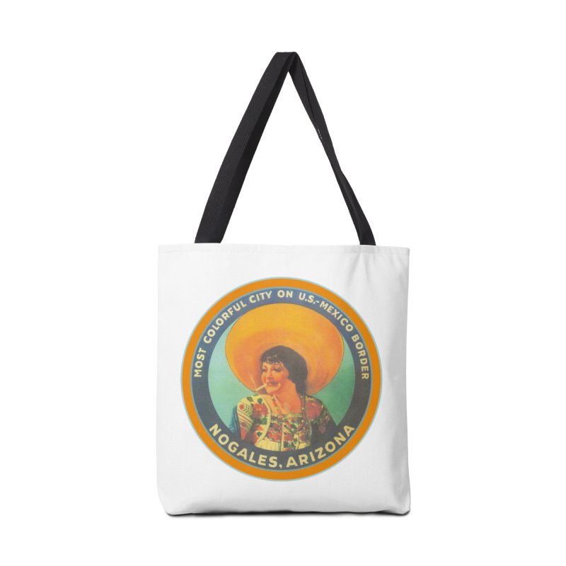 Colorful Nogales, Arizona Accessories Bag by Nuttshaw Studios