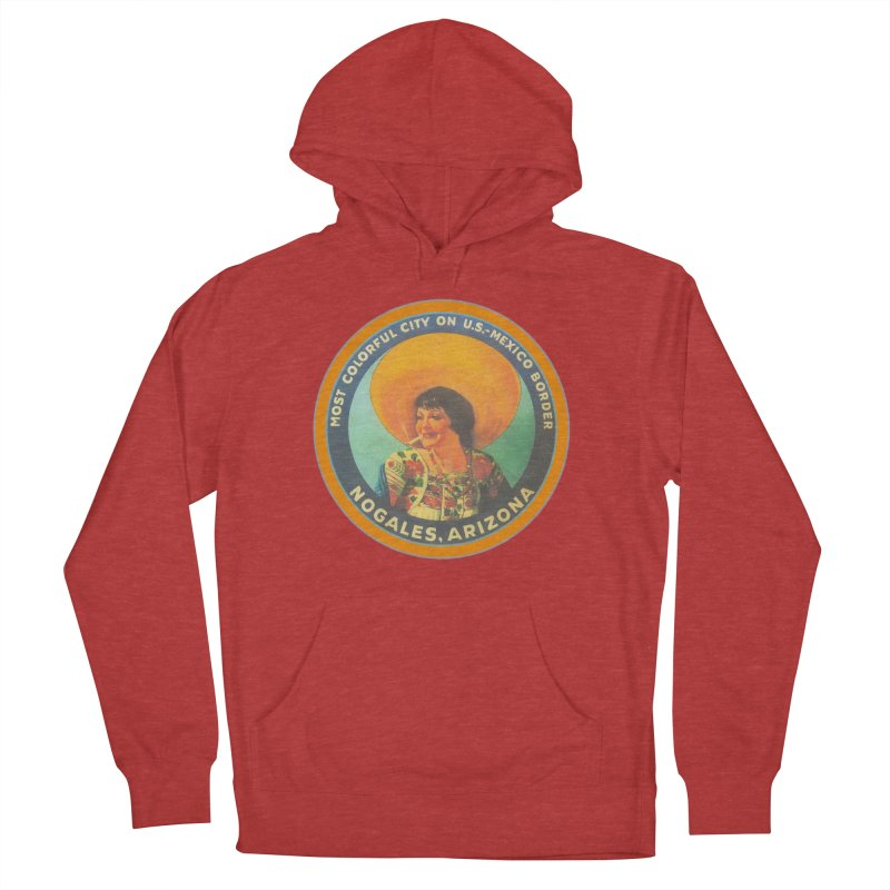 Colorful Nogales, Arizona Women's French Terry Pullover Hoody by Nuttshaw Studios