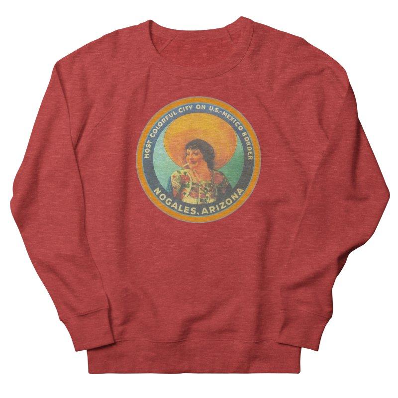Colorful Nogales, Arizona Women's Sweatshirt by Nuttshaw Studios