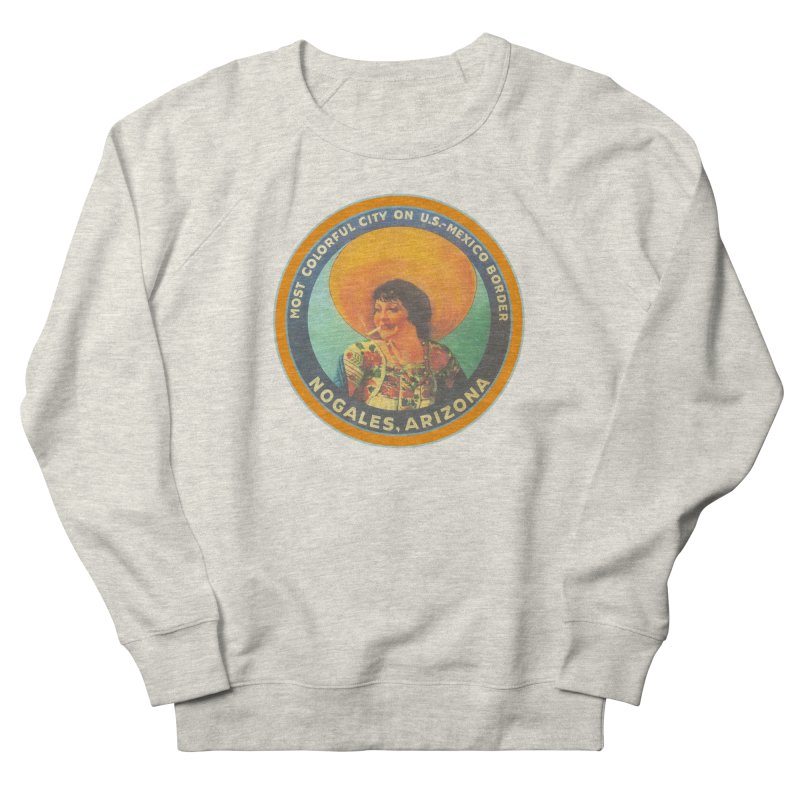 Colorful Nogales, Arizona Men's Sweatshirt by Nuttshaw Studios