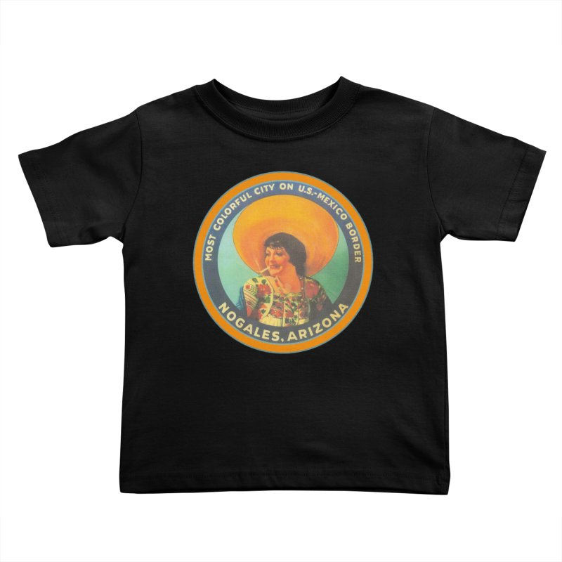 Colorful Nogales, Arizona Kids Toddler T-Shirt by Nuttshaw Studios