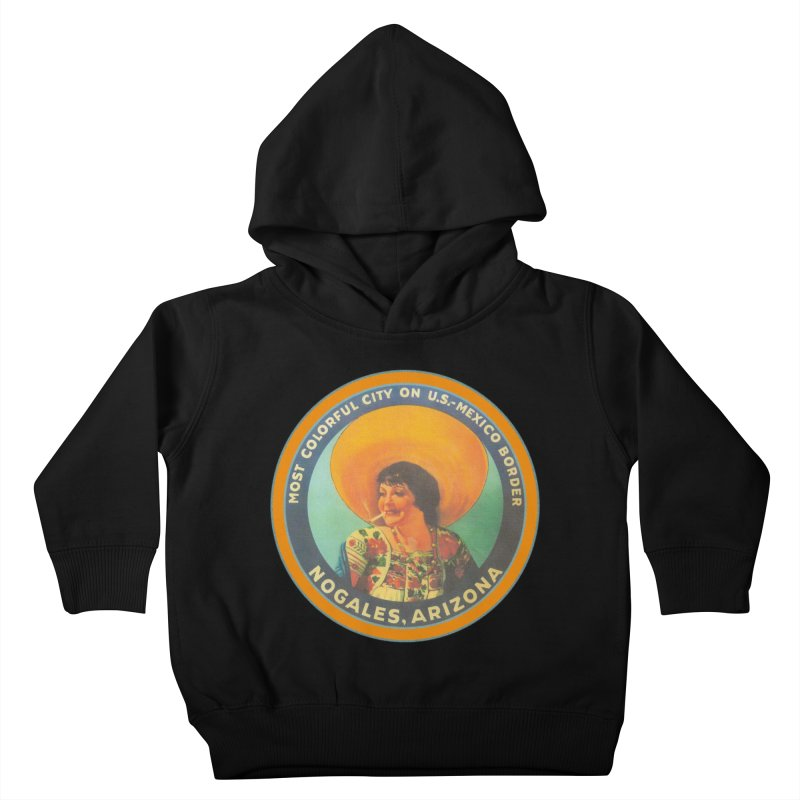 Colorful Nogales, Arizona Kids Toddler Pullover Hoody by Nuttshaw Studios