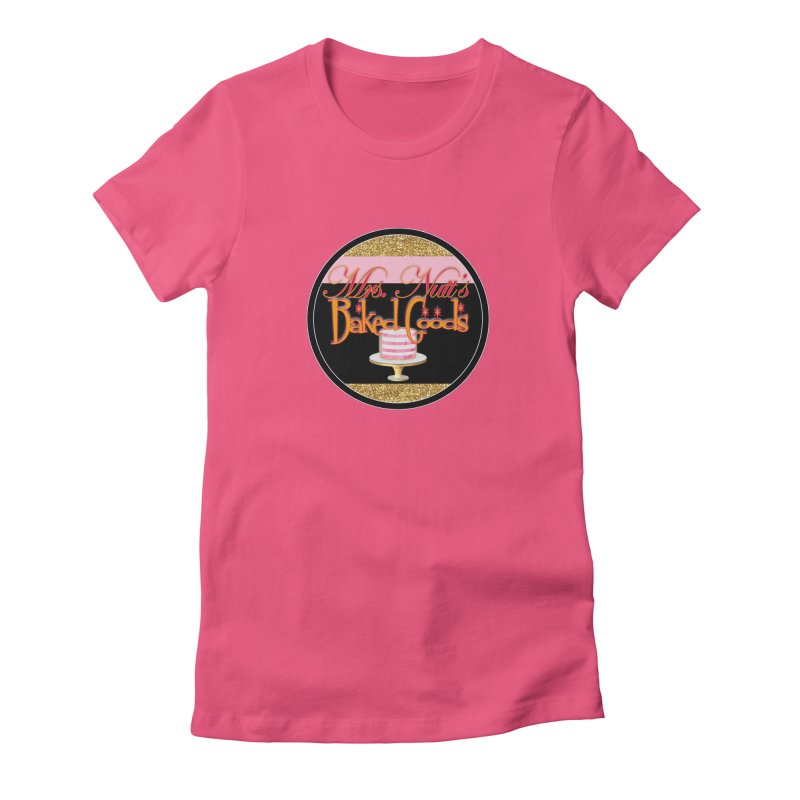 Mrs. Nutt's Baked Goods round Women's T-Shirt by Nuttshaw Studios