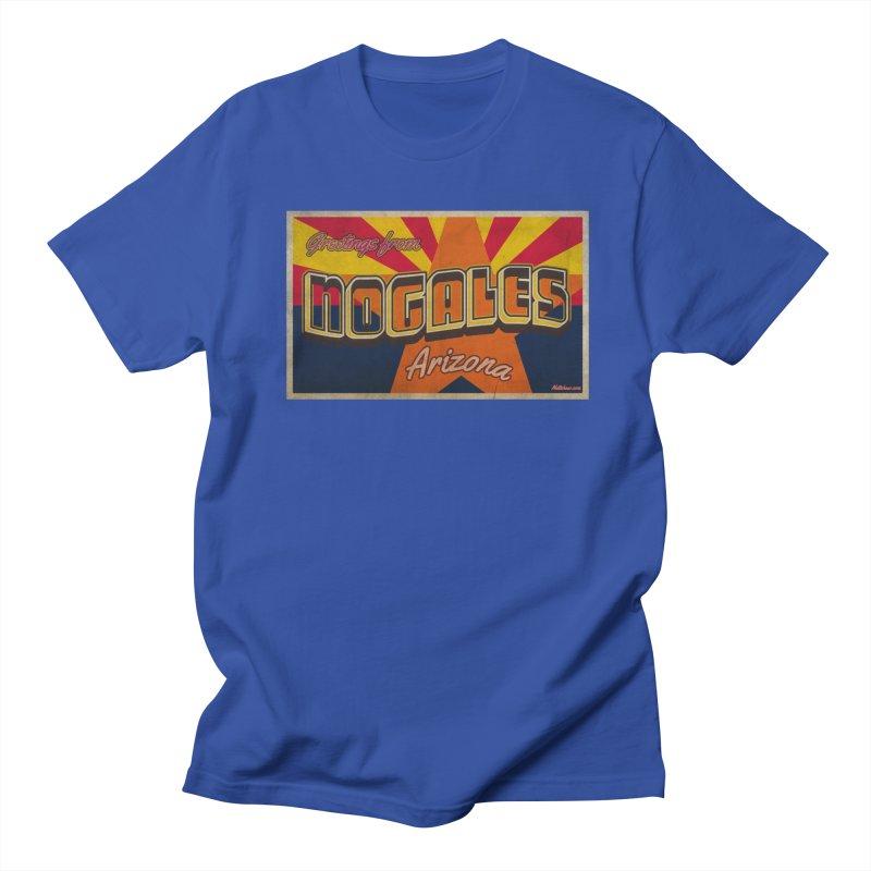 Nogales AZ Flag Men's T-Shirt by Nuttshaw Studios