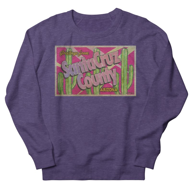 Santa Cruz County, Arizona Women's French Terry Sweatshirt by Nuttshaw Studios