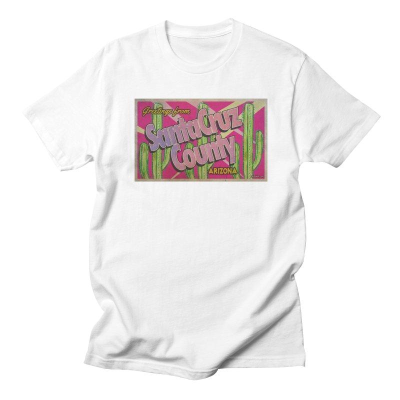 Santa Cruz County, Arizona Men's T-Shirt by Nuttshaw Studios