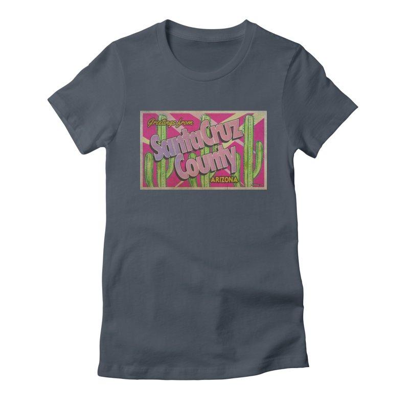 Santa Cruz County, Arizona Women's T-Shirt by Nuttshaw Studios