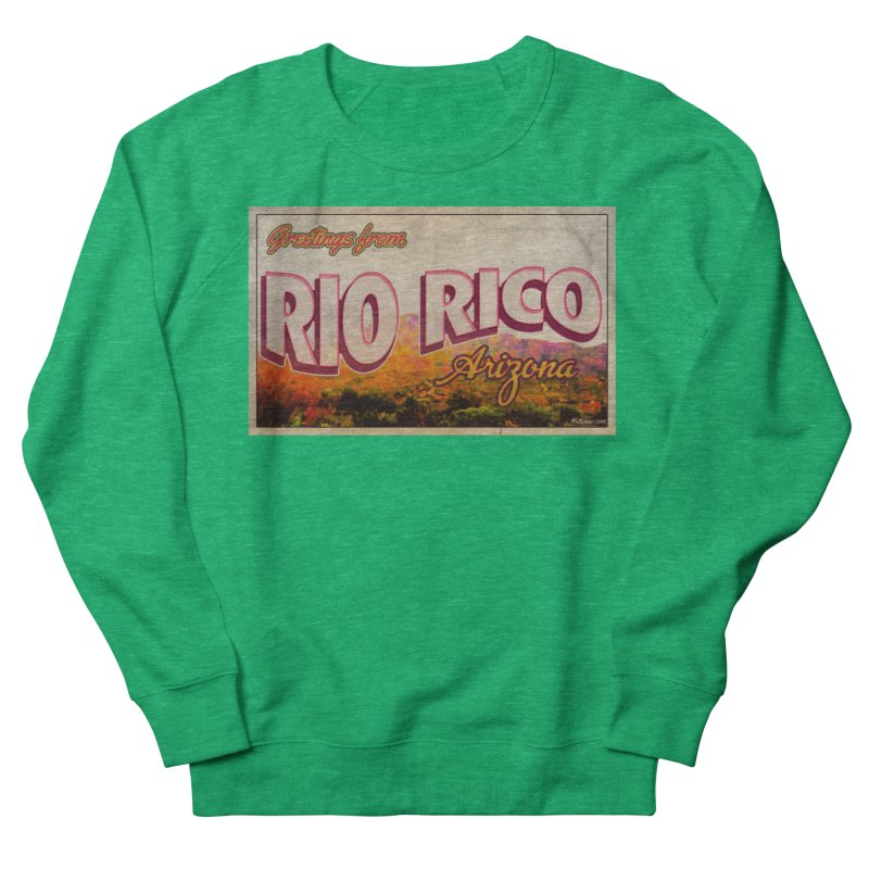 Rio Rico, AZ Women's French Terry Sweatshirt by Nuttshaw Studios