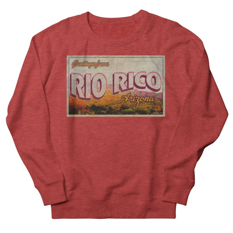 Rio Rico, AZ Women's French Terry Sweatshirt by Nuttshaw Studios