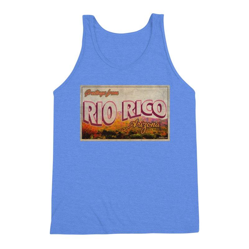 Rio Rico, AZ Men's Triblend Tank by Nuttshaw Studios