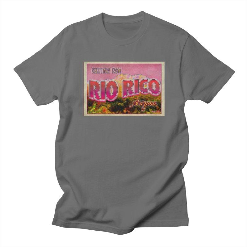 Rio Rico, AZ Men's T-Shirt by Nuttshaw Studios