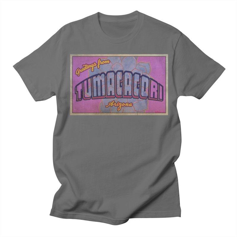 Tumacacori, AZ Men's T-Shirt by Nuttshaw Studios