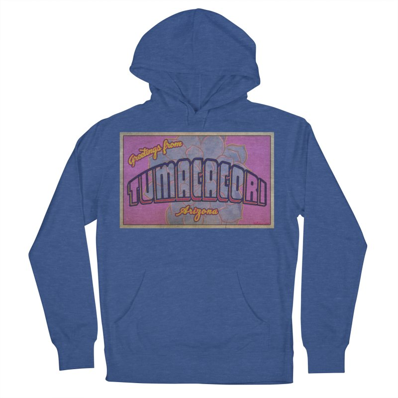 Tumacacori, AZ Men's French Terry Pullover Hoody by Nuttshaw Studios