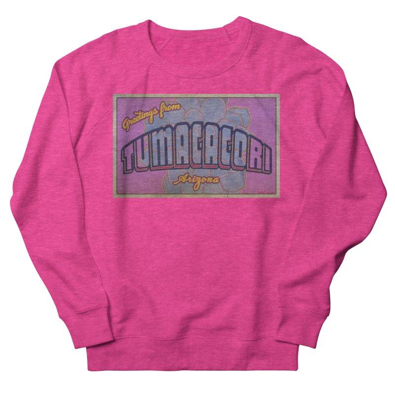 Tumacacori, AZ Women's French Terry Sweatshirt by Nuttshaw Studios
