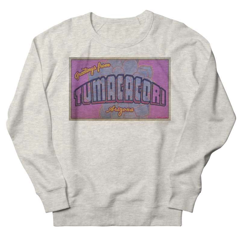 Tumacacori, AZ Women's French Terry Sweatshirt by Nuttshaw Studios