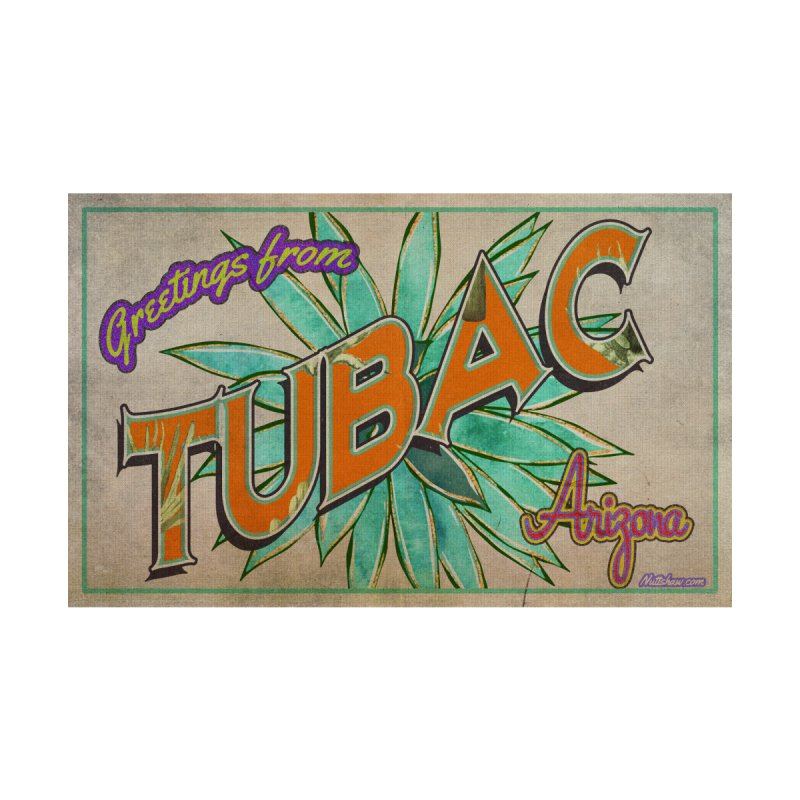 Tubac, AZ Men's T-Shirt by Nuttshaw Studios