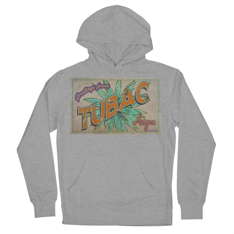 Tubac, AZ Men's French Terry Pullover Hoody by Nuttshaw Studios