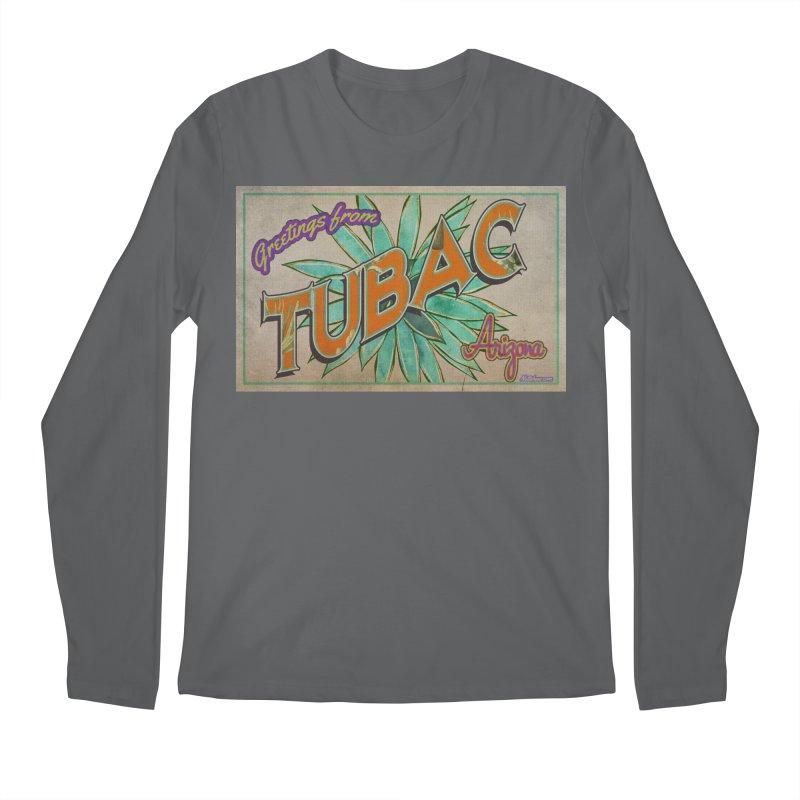 Tubac, AZ Men's Longsleeve T-Shirt by Nuttshaw Studios