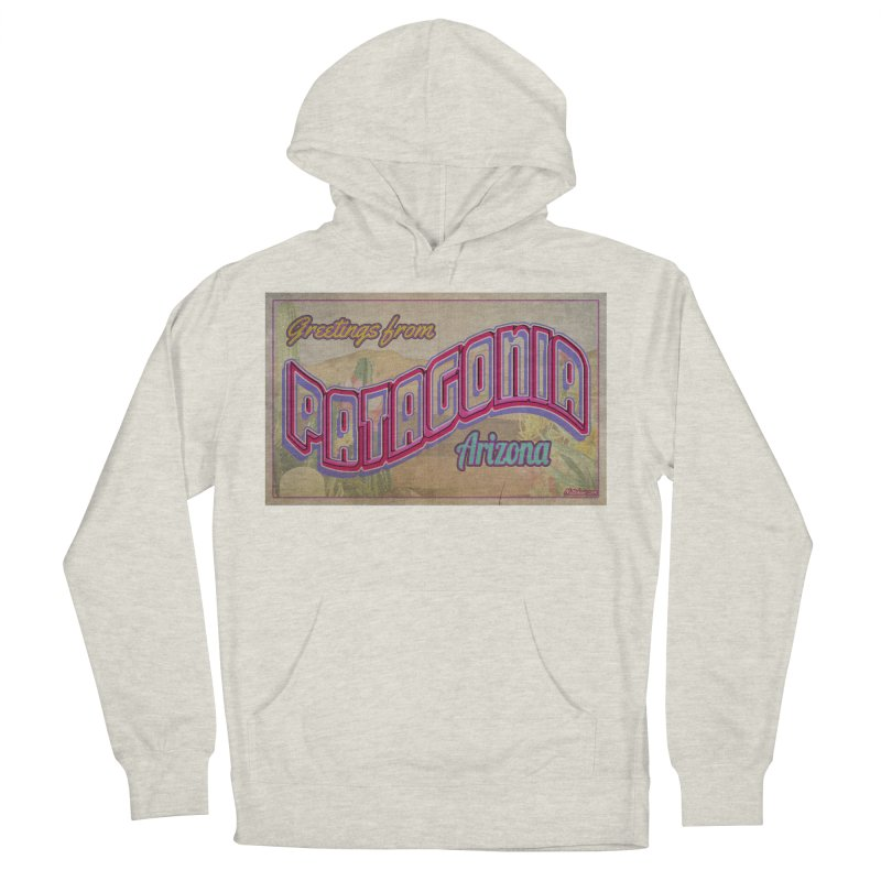 Patagonia, AZ Men's French Terry Pullover Hoody by Nuttshaw Studios