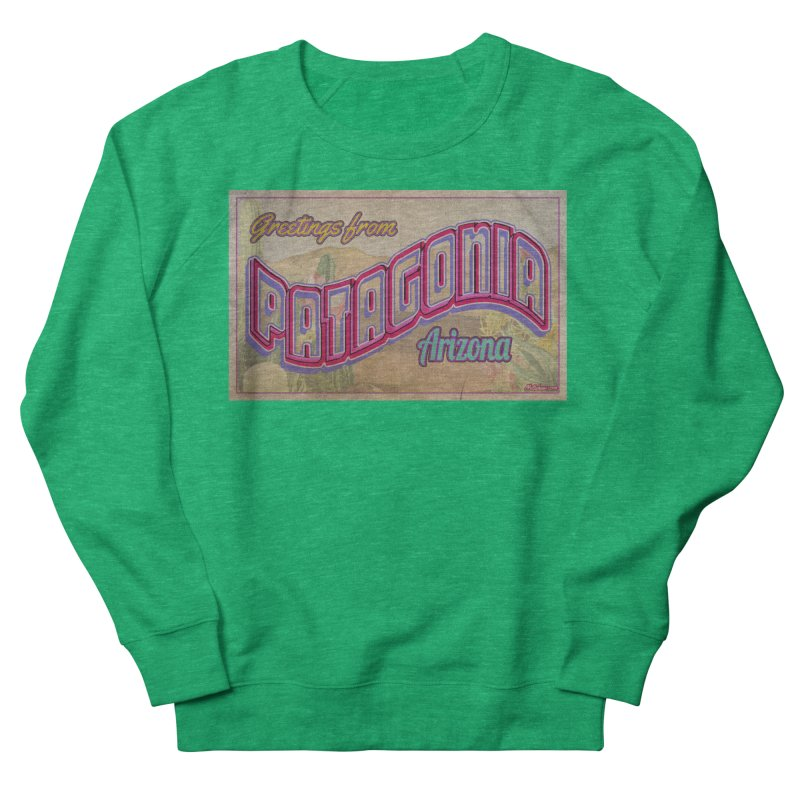 Patagonia, AZ Women's French Terry Sweatshirt by Nuttshaw Studios