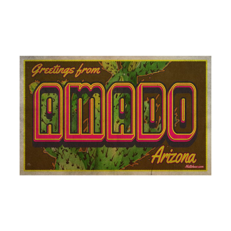 Amado, AZ Women's Scoop Neck by Nuttshaw Studios