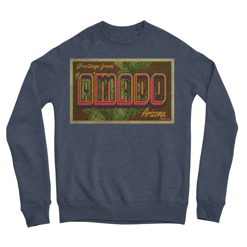 Amado, AZ Men's Sponge Fleece Sweatshirt by Nuttshaw Studios