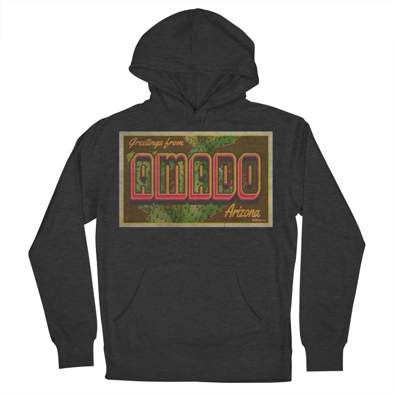 Amado, AZ Women's French Terry Pullover Hoody by Nuttshaw Studios