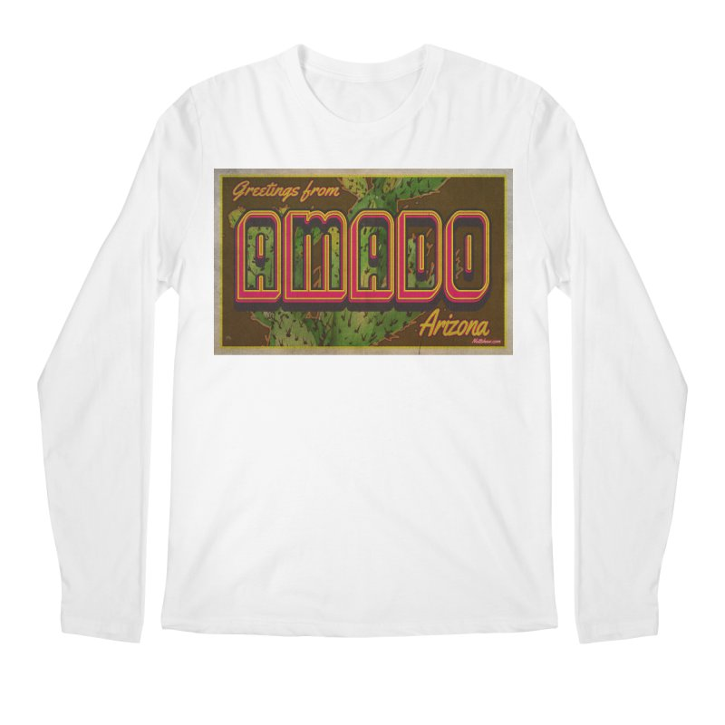 Amado, AZ Men's Regular Longsleeve T-Shirt by Nuttshaw Studios