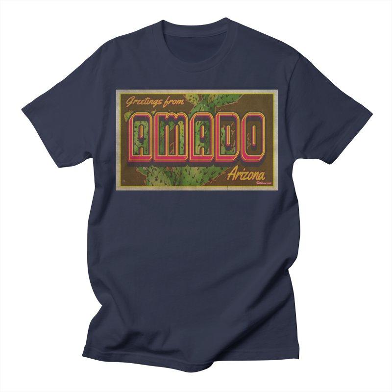 Amado, AZ Men's T-Shirt by Nuttshaw Studios