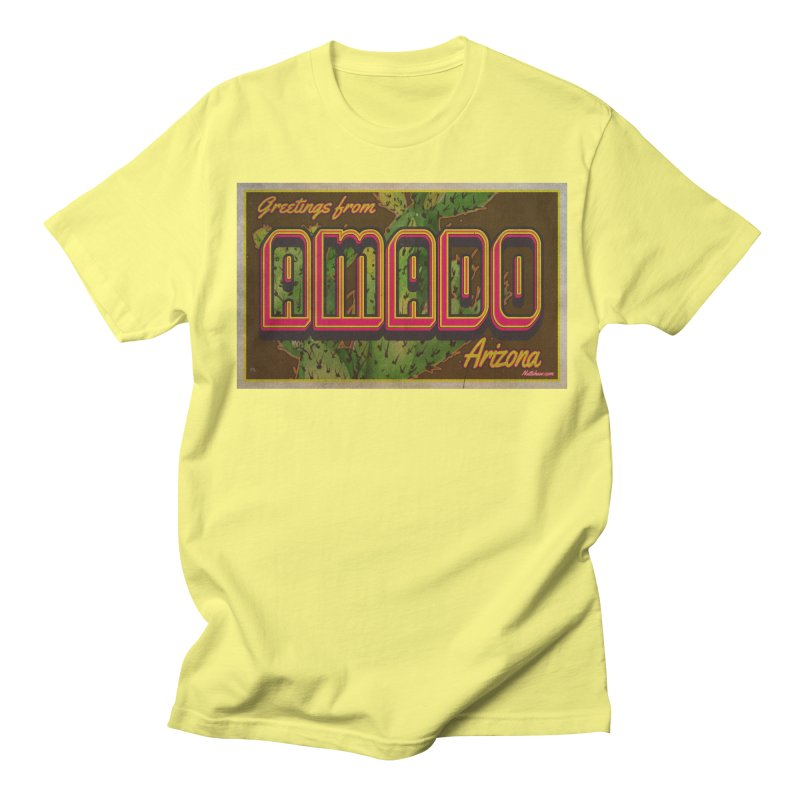 Amado, AZ Men's T-Shirt by Nuttshaw Studios