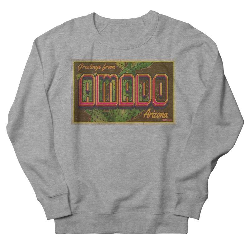 Amado, AZ Women's French Terry Sweatshirt by Nuttshaw Studios