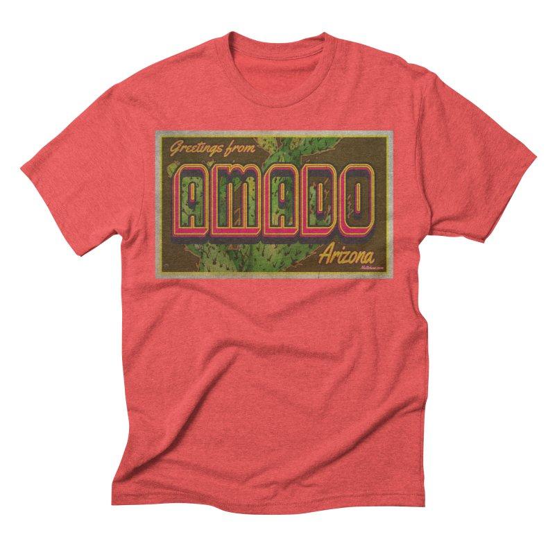 Amado, AZ Men's Triblend T-Shirt by Nuttshaw Studios