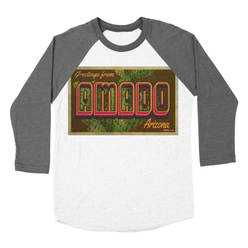 Amado, AZ Women's Baseball Triblend Longsleeve T-Shirt by Nuttshaw Studios