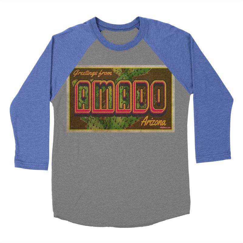 Amado, AZ Men's Baseball Triblend Longsleeve T-Shirt by Nuttshaw Studios