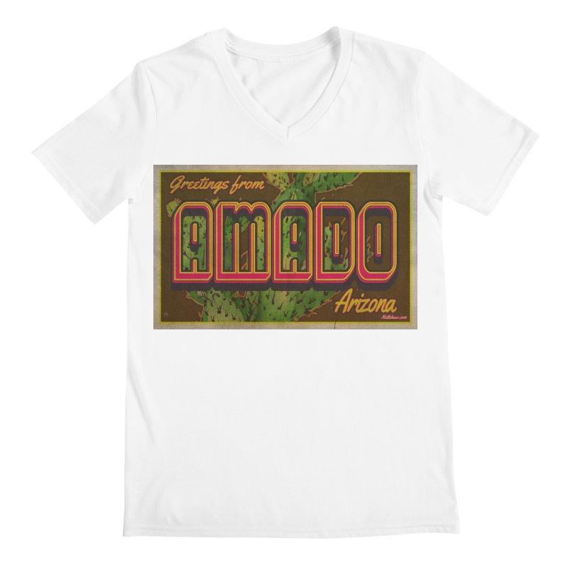 Amado, AZ Men's V-Neck by Nuttshaw Studios