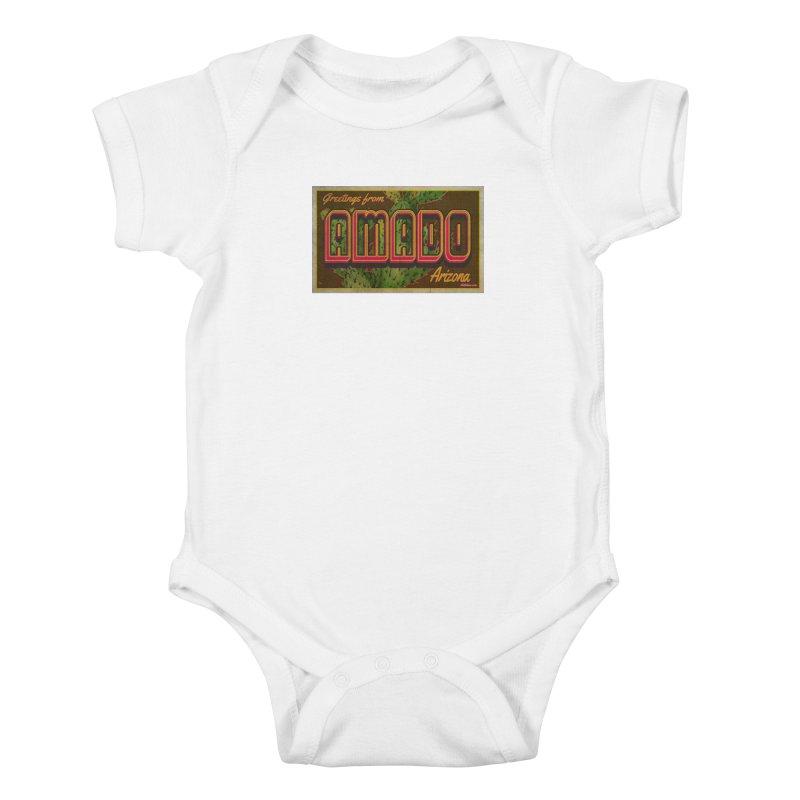 Amado, AZ Kids Baby Bodysuit by Nuttshaw Studios