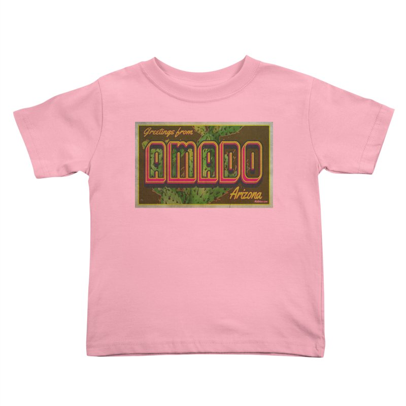 Amado, AZ Kids Toddler T-Shirt by Nuttshaw Studios