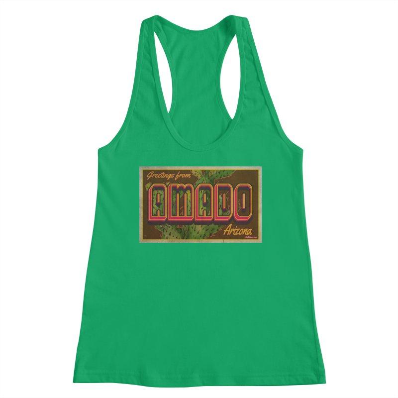 Amado, AZ Women's Tank by Nuttshaw Studios