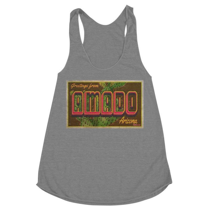 Amado, AZ Women's Racerback Triblend Tank by Nuttshaw Studios