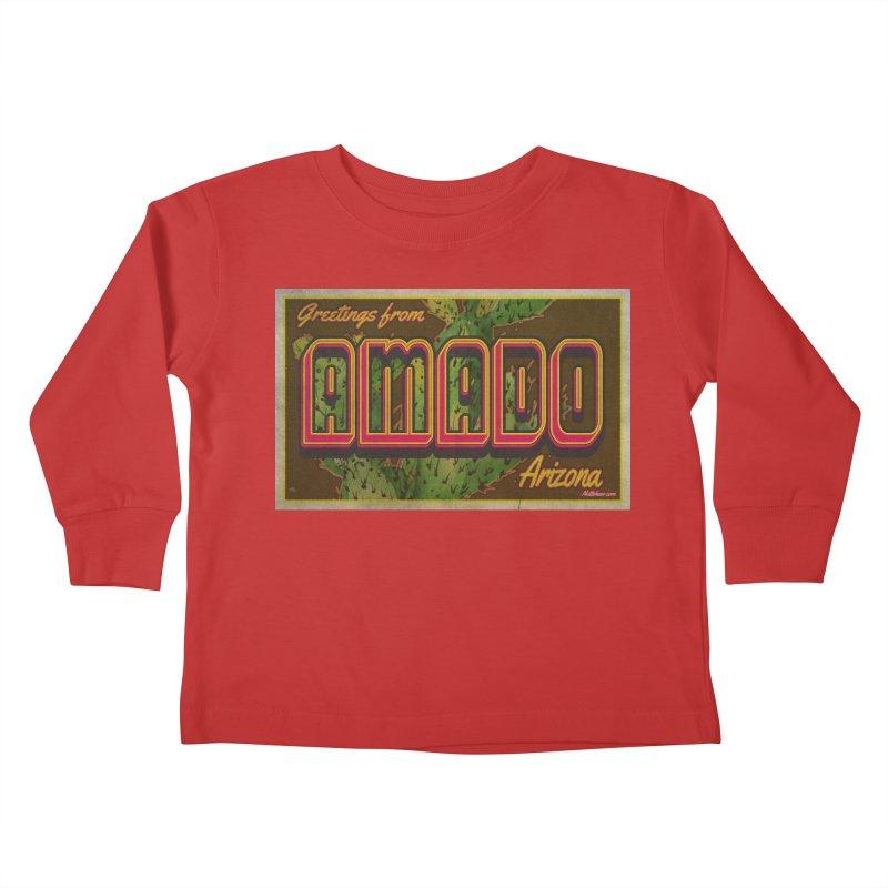 Amado, AZ Kids Toddler Longsleeve T-Shirt by Nuttshaw Studios