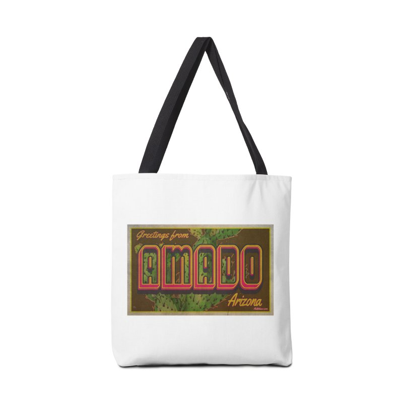 Amado, AZ Accessories Bag by Nuttshaw Studios