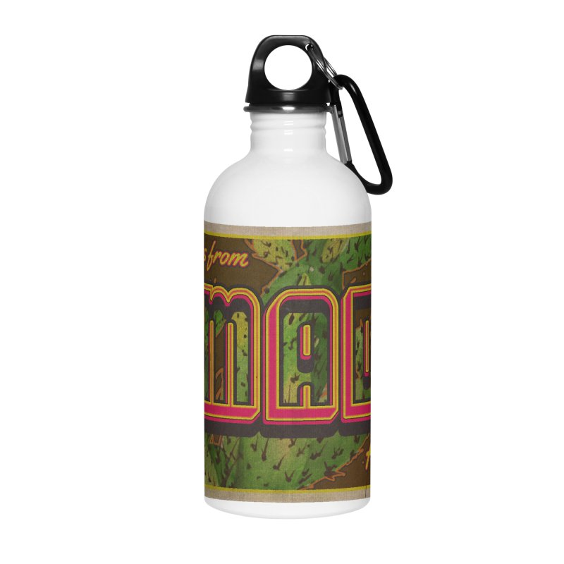 Amado, AZ Accessories Water Bottle by Nuttshaw Studios