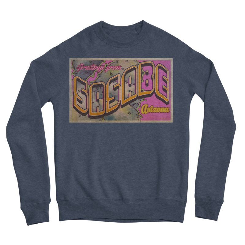 Sasabe, AZ. Men's Sponge Fleece Sweatshirt by Nuttshaw Studios