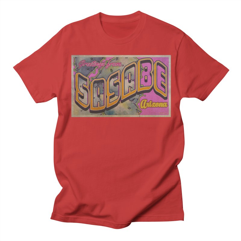 Sasabe, AZ. Men's Regular T-Shirt by Nuttshaw Studios