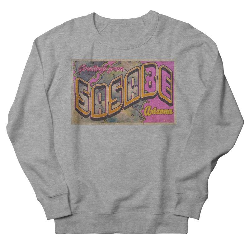 Sasabe, AZ. Women's French Terry Sweatshirt by Nuttshaw Studios
