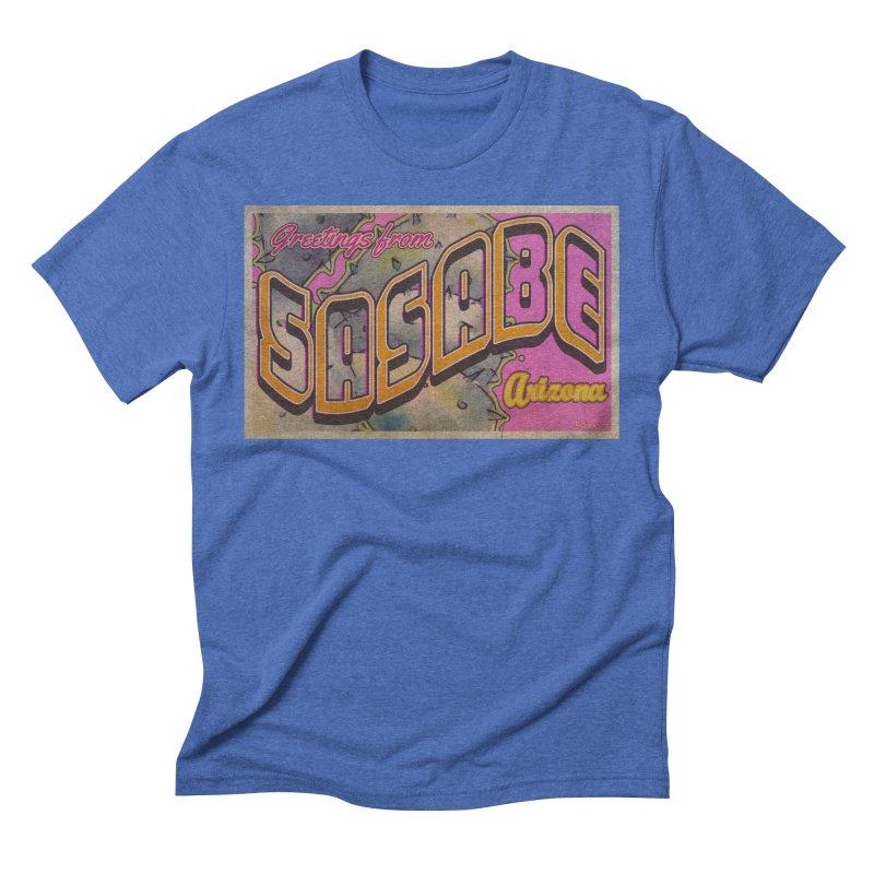 Sasabe, AZ. Men's T-Shirt by Nuttshaw Studios